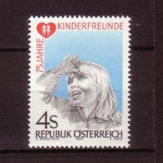 Sellos: AUSTRIA 1561*** AÑO 1983 - 150º ANIV. DE LA INSTITUCION KINDERFREUNDE DE ASISTENCIA A LA INFANCIA. Lote 26268049