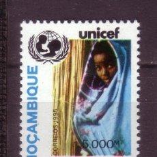 Sellos: MOZAMBIQUE 1310*** - AÑO 1995 - 20º ANIVERSARIO DE LA COOPERACION DE UNICEF CON MOZAMBIQUE. Lote 28305338