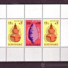 Sellos: SURINAM HB 15*** - AÑO 1975 - PRO INFANCIA - ARTESANÍA. Lote 28381511