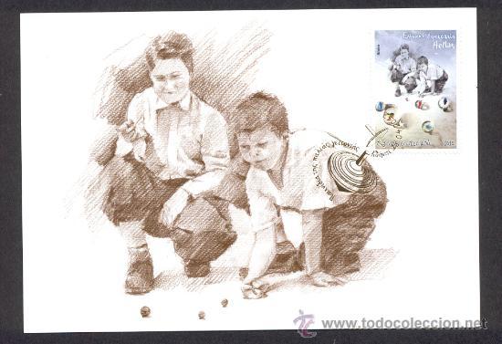Grecia 2012 Tarjeta Maxima Juegos Infantiles Comprar Sellos