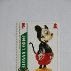 Sellos: SELLO NAVIDAD 1995 ANTIGUO JUGUETE DE DISNEY MICKEY MOUSE. Lote 32262502