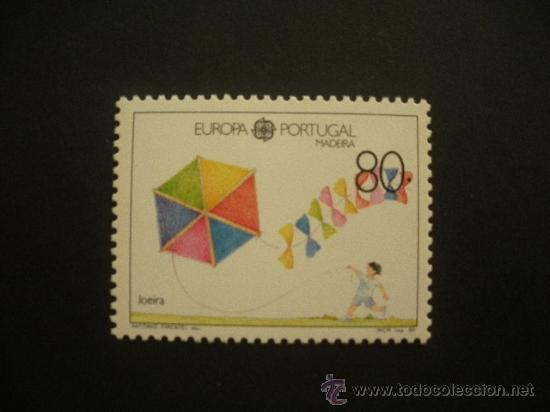 MADEIRA 1989 IVERT 131 *** EUROPA - JUEGOS INFANTILES (Sellos - Temáticas - Infantil)