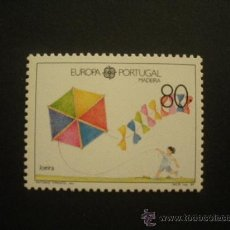 Sellos: MADEIRA 1989 IVERT 131 *** EUROPA - JUEGOS INFANTILES. Lote 32938678