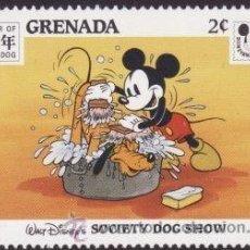 Sellos: GRANADA 1994 SCOTT 2363 SELLO ** WALT DISNEY AÑO DEL PERRO ESCENAS SOCIETY DOG SHOW MICKEY GRENADA. Lote 205354343