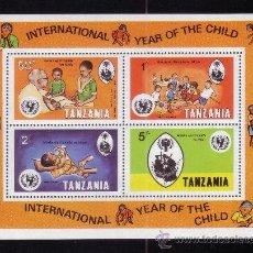 Sellos: TANZANIA HB 18*** - AÑO 1979 - AÑO INTERNACIONAL DEL NIÑO. Lote 37792666