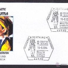 Sellos: ALEMANIA 2014. MATASELLO ESPECIAL. PINOCHO MARIONETAS. Lote 43817593