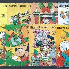 Sellos: R3/ DISNEY , CAT. 17,00 €, BONITA COLECCION, NUEVOS** SIN FIJASELLOS. Lote 48812661