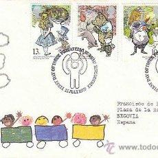 Sellos: INGLATERRA IVERT 896/9, AÑO INTERNACIONAL DEL NIÑO.DIBUJOS DE POTTER, PRIMER DIA DE 11-7-1979. Lote 53368375