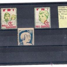Sellos: ESPAÑA REPUBLICA.AÑO 1937.PRO GUARDERIAS.. Lote 53811801