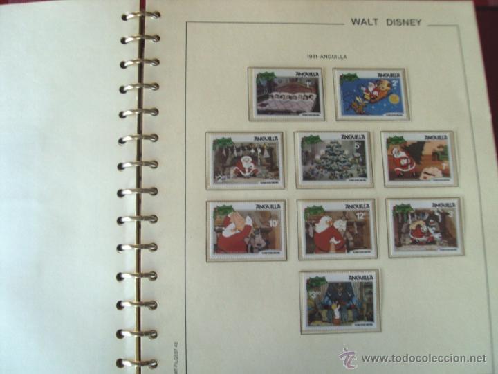 Sellos: Gran Coleccion Sellos tema Walt Disney Filagest diferentes paises mas 900 unidades - Foto 2 - 54237803