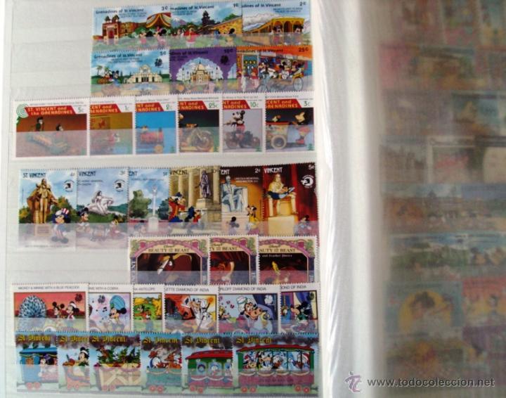 Sellos: Gran Coleccion Sellos tema Walt Disney Filagest diferentes paises mas 900 unidades - Foto 4 - 54237803