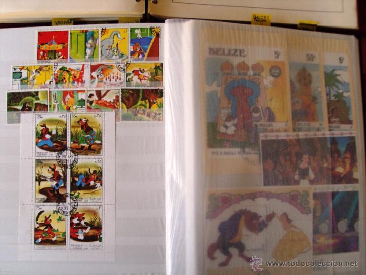 Sellos: Gran Coleccion Sellos tema Walt Disney Filagest diferentes paises mas 900 unidades - Foto 6 - 54237803