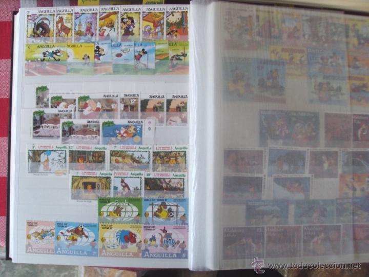 Sellos: Gran Coleccion Sellos tema Walt Disney Filagest diferentes paises mas 900 unidades - Foto 10 - 54237803