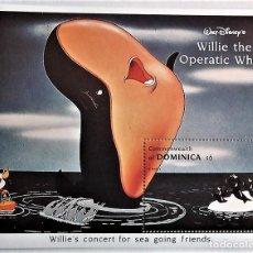 Sellos: DOMINICA. HB 250 EL CONCIERTO DE WILLIE. 1993. SELLOS NUEVOS Y NUMERACIÓN YVERT.. Lote 105397144