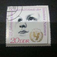 Sellos: SELLOS DE ALEMANIA (R.D.ALEMANA. DDR). 1971. NIÑO. ANIVERSARIO. UNICEF. ANIVERSARIO. MADRE. HIJO. LO. Lote 105697076