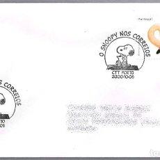 Sellos: MATASELLOS SNOOPY EN CORREOS. PORTO, PORTUGAL, 2000. Lote 111991155