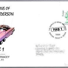 Sellos: MATASELLOS SERIE DE TELEVISION THUNDERBIRDS - GERRY ANDERSON. NEWTON TRACEY 2011. Lote 112457987