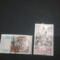 Sellos: SELLOS DE ALEMANIA, R. D. (DDR) MATASELLADOS. 1983. EXPOSICIÓN FILATELICA JUVENIL. JUVENTUD.. Lote 116205960