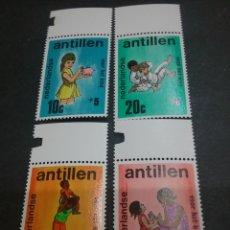 Sellos: SELLOS DE ANTILLAS HOLANDESAS NUEVOS. 1970. JUVENTUD. NIÑOS. MADRE. JUDO. DEPORYES. HUCHA. JUEGOS. F. Lote 117959140