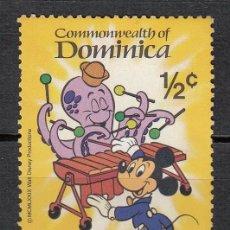 Sellos: DOMINICA 1979 - WALT DISNEY . MICKEY MOUSE - 1 SELLO. Lote 118572411