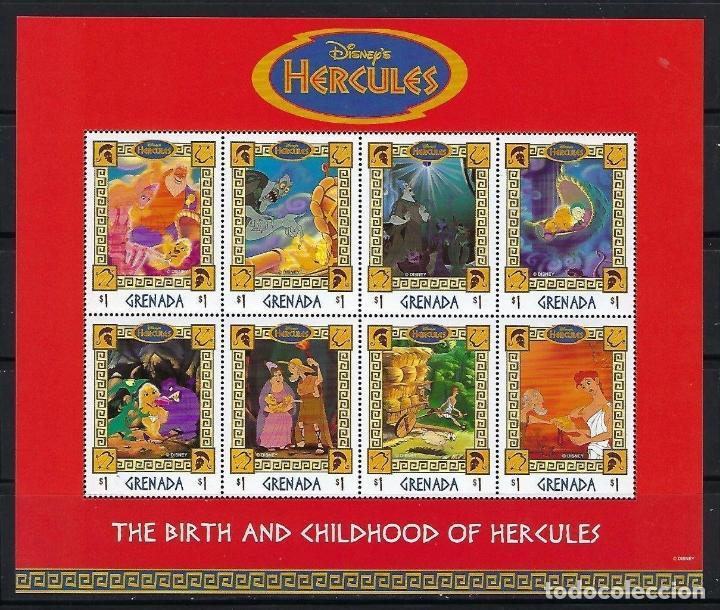 GRENADA 1998 IVERT 3209/16 *** HERCULES - DIBUJOS DE WALT DISNEY (II) (Sellos - Temáticas - Infantil)