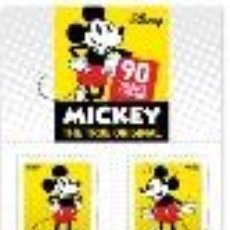 Sellos: PORTUGAL ** & 90 ANOS MICKEY MOUSE, AUTOADESIVOS 2018 (6840). Lote 134025074