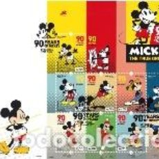 Sellos: PORTUGAL ** & FDCB 90 ANOS MICKEY MOUSE 2018 (6820) . Lote 134025814