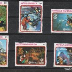Francobolli: LOTE 1 SELLOS DISNEY ANTIGUA BARBUDA NUEVOS. Lote 215445687