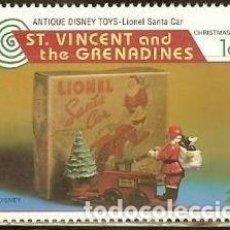 Timbres: SAN VICENTE & GRANADINAS 1995 SCOTT 2231 ** WALT DISNEY MICKEY MOUSE TOYS MICHEL 3362 YVERT 2646. Lote 144406294