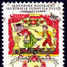 Sellos: 1968 - CHECOSLOVAQUIA - CUENTOS ESLOVACOS - YVERT 1696. Lote 146413002