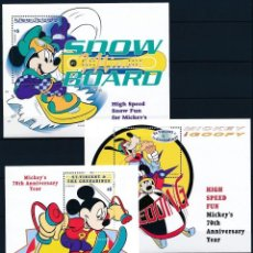 Sellos: SELLOS ST VINCENT AND THE GRENADINES 1999 DISNEY MICKEY GOOFY DEPORTES. Lote 146612590