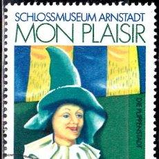 Sellos: 1974 - ALEMANIA - DDR - MUSEO CIUDAD DE LAS MUÑECAS MON PLAISIR - YVERT 1658. Lote 147385018