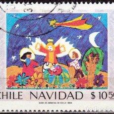 Sellos: 1980 - CHILE - NAVIDAD - YVERT 552. Lote 151621918