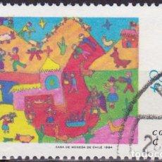 Sellos: 1984 - CHILE - NAVIDAD - MICHEL 1071. Lote 151640286