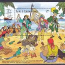 Sellos: TURKS AND CAICOS ISLANDS - HB - DISNEY - NUEVA, SIN FIJASELLOS . Lote 160577673