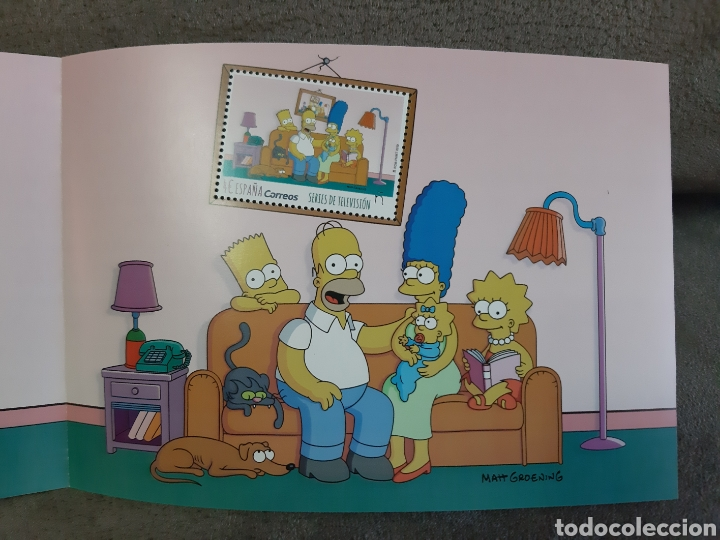 SELLO THE SIMPSONS 2019 EDICIÓN LIMITADA (SERIES DE TV) (Sellos - Temáticas - Infantil)