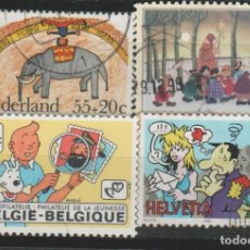 Timbres: LOTE LL- SELLOS INFANTIL . Lote 190985435