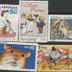 Timbres: LOTE LL- SELLOS INFANTIL . Lote 190985463