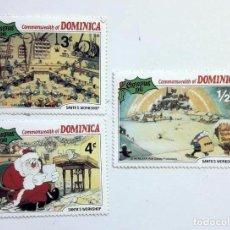 Sellos: WALT DISNEY SELLOS DOMINICA SIN USAR *GASTOS DE ENVÍO 6 EUROS*. Lote 192818108