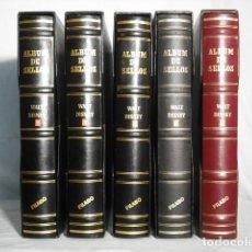 Francobolli: COLECCION DE DISNEY EN CINCO ALBUMES. Lote 193357275