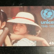 Sellos: UNICEF PORTUGAL CARNET 1996 NUEVO. Lote 198709406