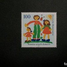 Sellos: /01.04/-ALEMANIA FEDERAL-1992-Y&T 1450 SERIE COMPLETA EN NUEVO(**MNH)-DIBUJOS INFANTILES. Lote 198946446