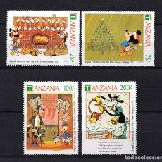 Timbres: TANZANIA 761/64** - AÑO 1991 - PERSONAJES DE DISNEY - NAVIDAD. Lote 204330580