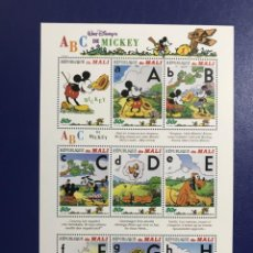 Sellos: WALT DISNEY REPUBLICA DE MALI MICKEY MNH. Lote 205599391