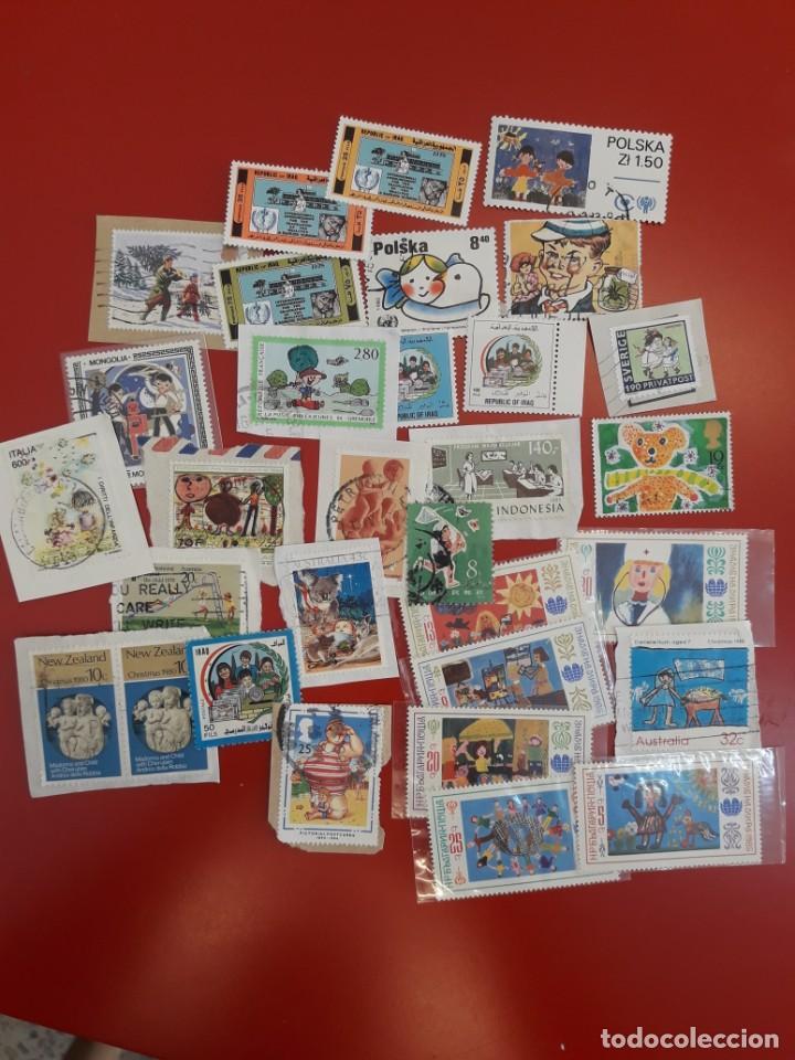 Sellos: lote sellos tematica infantil - Foto 2 - 210024313