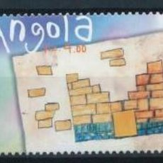 Sellos: ANGOLA 2000 IVERT 1476/8 *** DIBUJOS INFANTILES. Lote 218125190