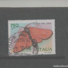 Sellos: LOTE (19) SELLO ITALIA FAUNA MARIPOSA. Lote 221867546