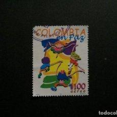 Sellos: /24.10/-COLOMBIA-1997-CORREO AEREO 1100 P. Y&T 955 SERIE COMPLETA EN USADO/º/. Lote 222160562
