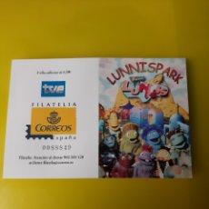 Sellos: INFANTIL LOS LUNIS CARNETS EDIFIL 4176/83 DIBUJOS TV ESPAÑA FILATELIA COLISEVM LUGO. Lote 222860636
