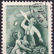 Sellos: 1951 - HUNGRIA - DIA INTERNACIONAL DEL NIÑO - YVERT 998. Lote 236427020